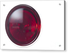 Glass With Red Wine Acrylic Print by Mats Silvan