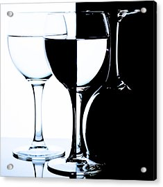 Glasses Acrylic Print by Dmitry Malyshev