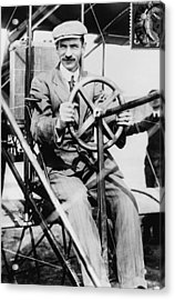Glenn H. Curtiss 1878-1930, Aviation Acrylic Print by Everett