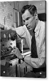 Glenn Seaborg 1912-1999, Won The 1951 Acrylic Print by Everett