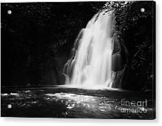 Gleno Or Glenoe Waterfall County Antrim Northern Ireland Acrylic Print by Joe Fox