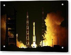 Glonass Satellite Launch, 2010 Acrylic Print