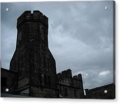 Gloom Turret Acrylic Print by Christophe Ennis