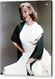 Gloria Grahame, Ca. 1950s Acrylic Print by Everett