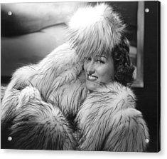 Gloria Swanson, 1941, Photo By Ernest Acrylic Print by Everett