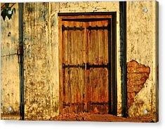 Glory Forgotten Acrylic Print by Vinod Nair