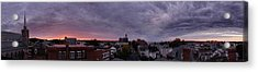 Gloucester Sunrise Panorama Acrylic Print by Matthew Green