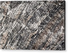 Acrylic Print featuring the photograph Gneiss Rock Pattern by Les Palenik