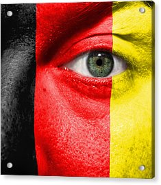 Go Belgium Acrylic Print by Semmick Photo