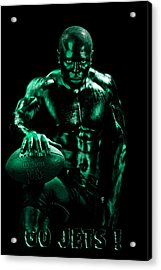 Go Jets Acrylic Print by Val Black Russian Tourchin