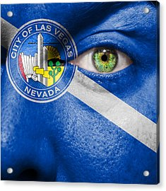 Go Las Vegas Acrylic Print by Semmick Photo