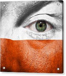 Go Poland Acrylic Print by Semmick Photo