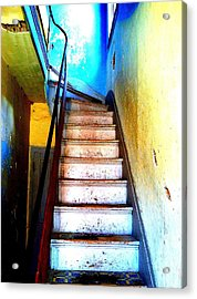 Acrylic Print featuring the photograph Go Up by Christine Ricker Brandt