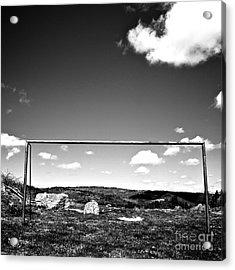 Goal Acrylic Print by Bernard Jaubert