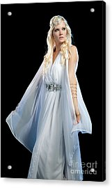 Goddess Acrylic Print by Cindy Singleton