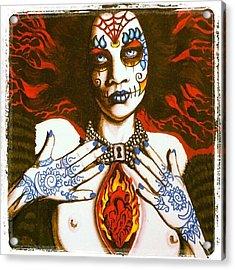 Goddess Of Desire Acrylic Print