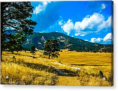 Acrylic Print featuring the photograph God's Country by Shannon Harrington