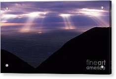 Gods Light Acrylic Print