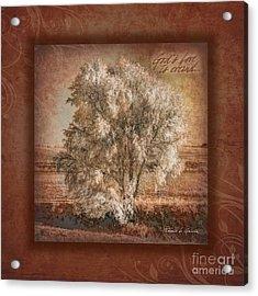 God's Love Acrylic Print