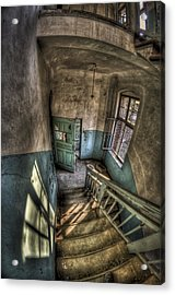 Going Down  Acrylic Print by Nathan Wright