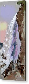 Going Fishing Acrylic Print by Charles Shoup