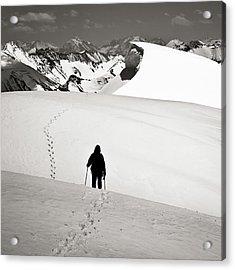 Going Forward Acrylic Print by Konstantin Dikovsky