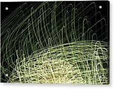 Going Green Acrylic Print by Dean Bennett
