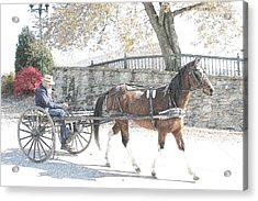 Going Home Acrylic Print by Western Roundup