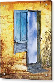 Going In Acrylic Print by Skip Nall