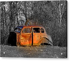 Going No Where Fast Acrylic Print by John Comeau