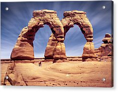 Golden Arches? Acrylic Print by Mike McGlothlen