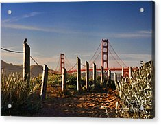 Golden Gate Bridge - 2 Acrylic Print