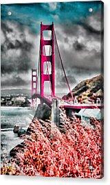 Golden Gate Bridge - 5 Acrylic Print