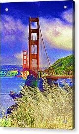 Golden Gate Bridge - 6 Acrylic Print
