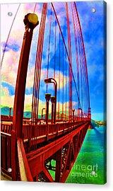 Golden Gate Bridge - 8 Acrylic Print