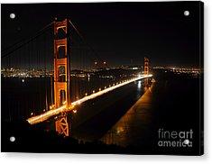 Acrylic Print featuring the photograph Golden Gate Bridge 2 by Vivian Christopher