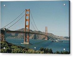 Golden Gate Bridge As Seen Acrylic Print by J. Baylor Roberts
