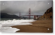 Acrylic Print featuring the photograph Golden Gate Bridge by Gary Rose