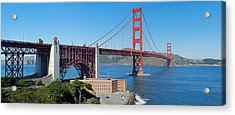 Golden Gate Bridge Panorama Acrylic Print