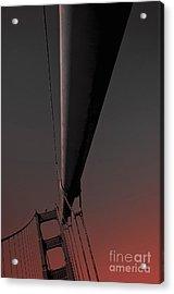 Golden Gate Bridge San Francisco 3 Acrylic Print