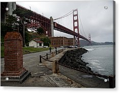 Acrylic Print featuring the photograph Golden Gate by Gary Rose