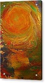 Golden Glow Acrylic Print by Gloria Warren