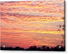 Golden Sunset 002 Acrylic Print by George Bostian