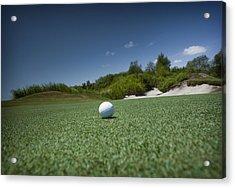 Golf 1 Acrylic Print by Al Hurley