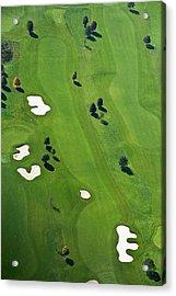 Golf Course Acrylic Print by Daniel Reiter