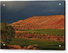 Golfers  Dream Acrylic Print