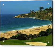 Golfers Heaven Acrylic Print by Kevin Moore