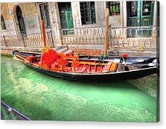 Gondola No Koibito Tachi  Acrylic Print by Barry R Jones Jr