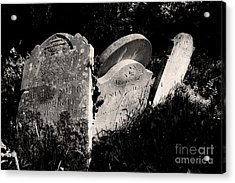 Gone But Not Forgotten Acrylic Print by Darren Burroughs