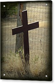 Gone But Not Forgotten Acrylic Print by Terry Eve Tanner